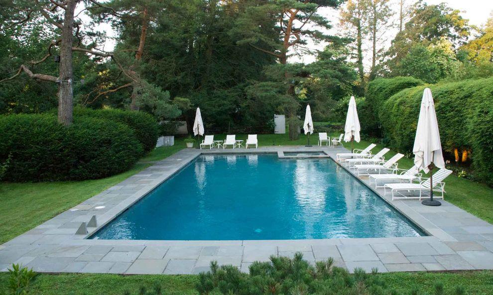 Surfside Pools   Transitional Pool Also Gunite Pool Spa