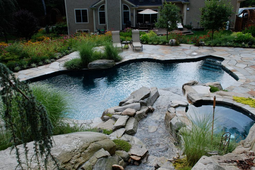 Surfside Pools with Rustic Pool Also Natural Beauty Natural Free Form Pool