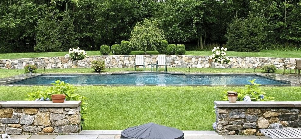 Surfside Pools with Traditional Pool  and Rectangular Gunite Pool
