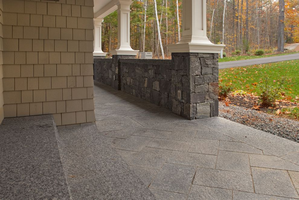 Swenson Granite Works with  Exterior Also Caledonia Corinthian Granite Granite Lake Home Lake House Pavers Thermal Top