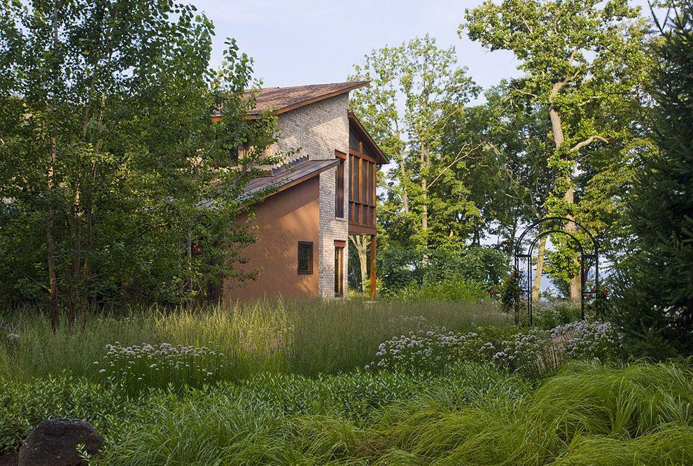 Tatum Lawn Care with Contemporary Landscape and Arbor Backyard Boulder Garden Art Grass Low Maintenance Native Natural Rock Sculpture