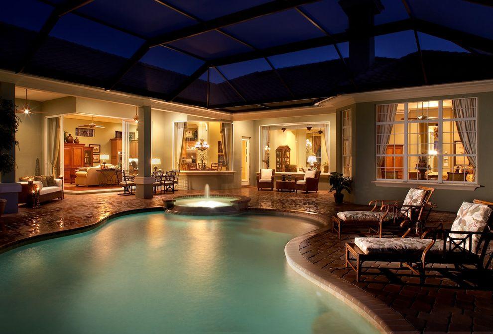 Taylor Morrison Tampa   Mediterranean Pool  and Florida Lanai Outdoor Living