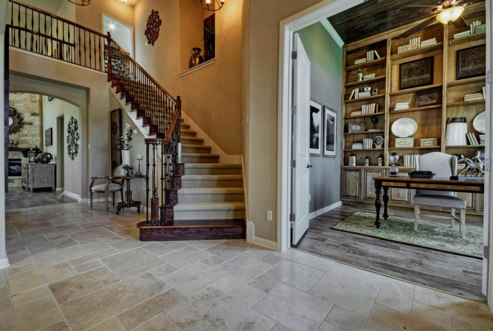 Taylor Morrison Tampa   Traditional Entry Also Austin Luxury Home Foyer Luxury Home Model Home