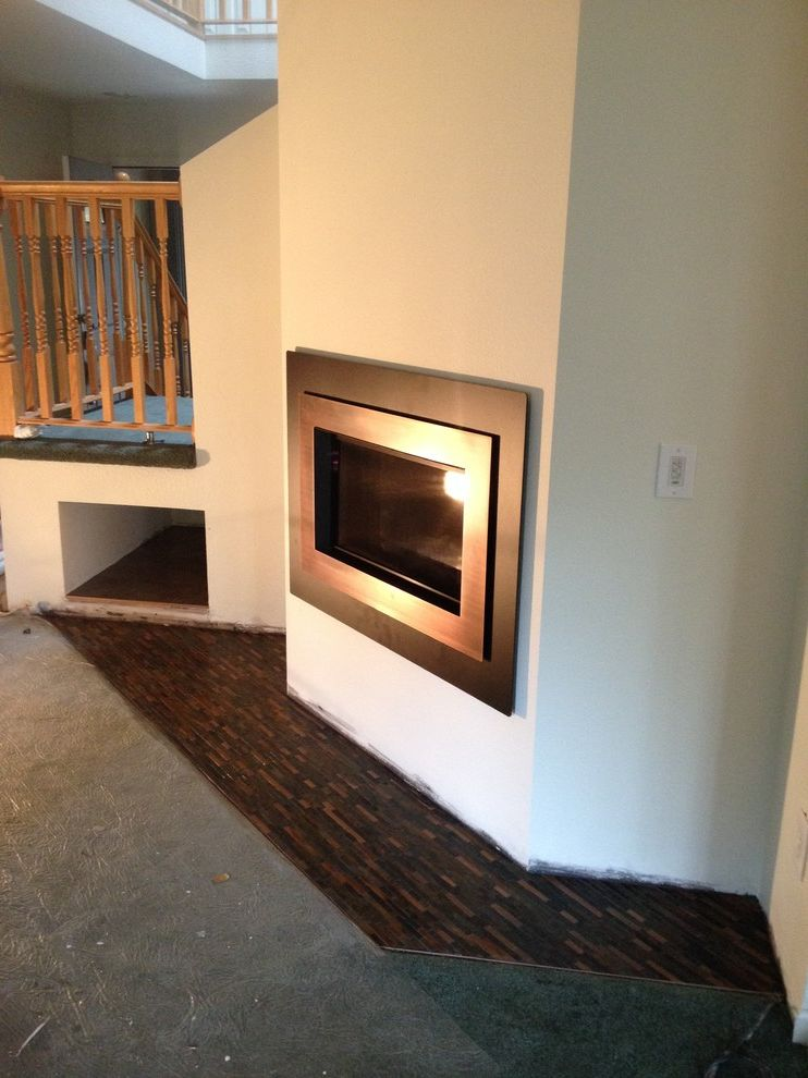 Taylored Restoration   Transitional Living Room Also Fireplace Surrounds Fireplaces Stoves Gas Fireplaces