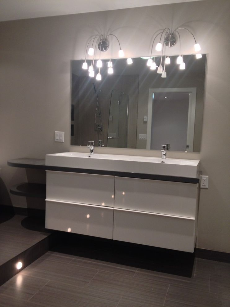 Taylored Restoration with Contemporary Bathroom Also 2 Sink Vanity Bathroom Sinks Wall Mirrors