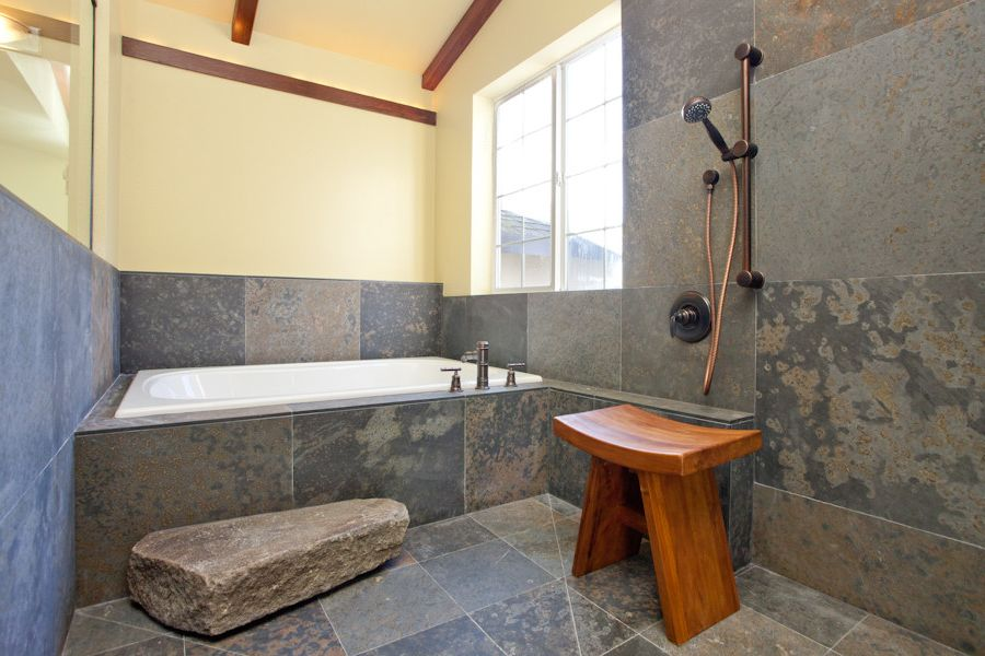 Japanese bathing stool japanese wooden bath stool - Japanisches badezimmer ...