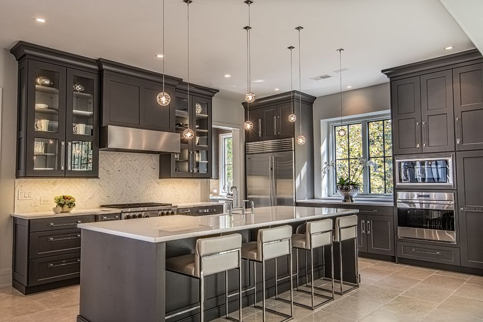 Teche Lighting   Transitional Kitchen  and Transitional