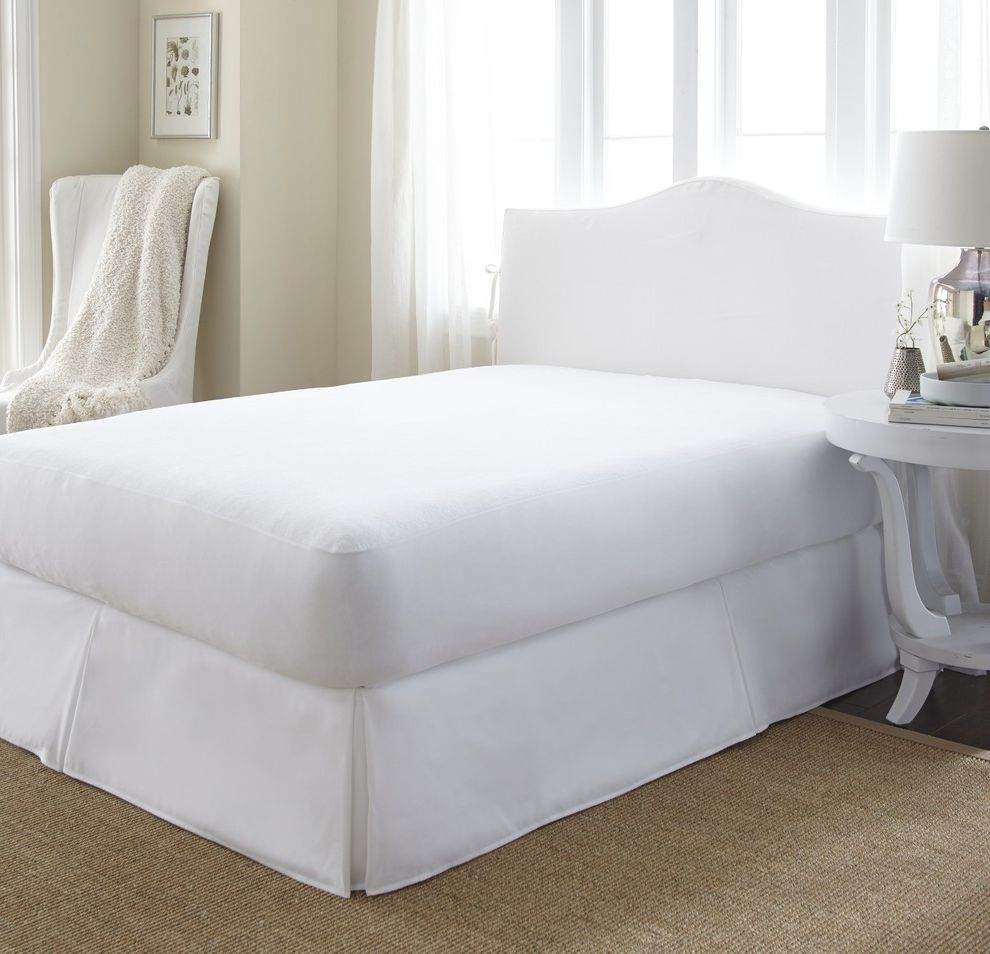 Tempurpedic Mattress Protector Queen    Bedroom  And