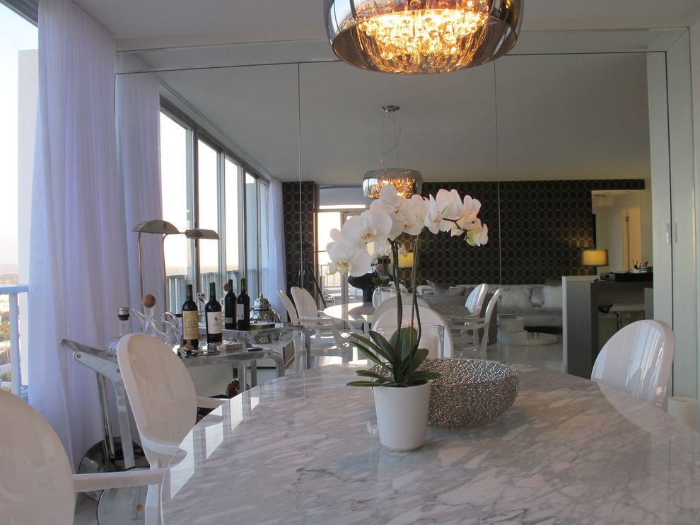 The Penthouse Santa Monica   Contemporary Dining Room  and Home Stagers Home Staging Interior Designer
