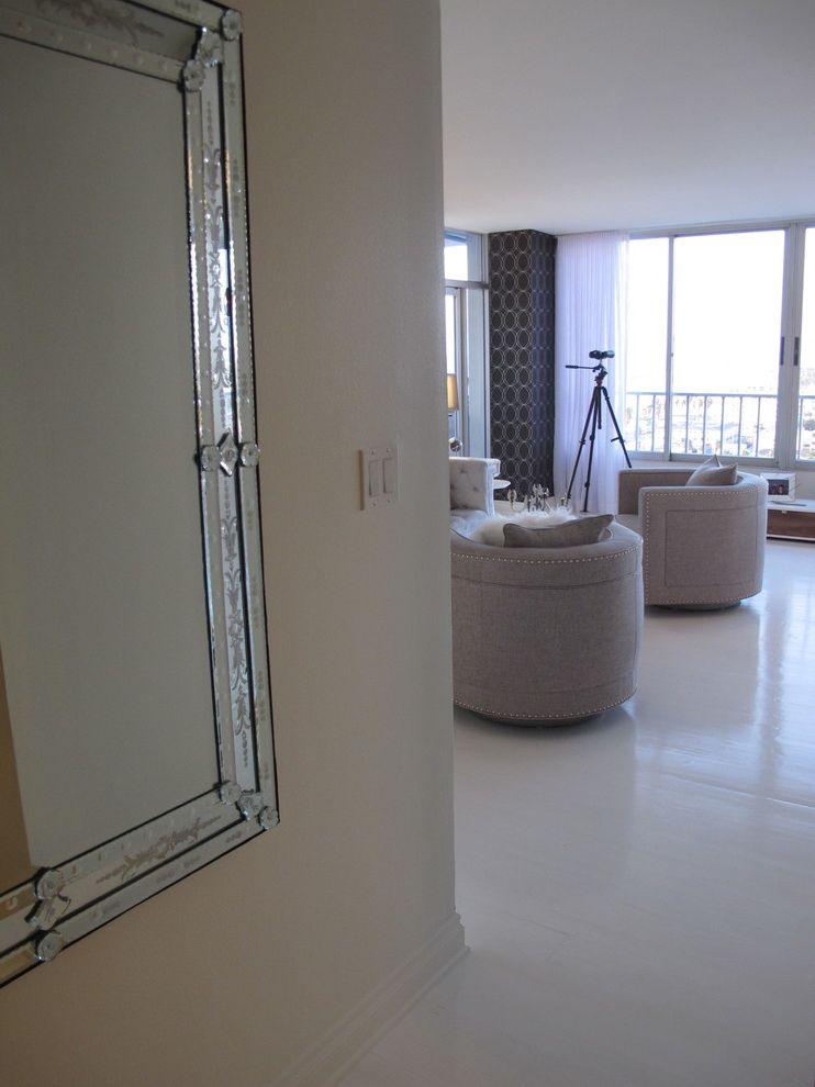 The Penthouse Santa Monica   Contemporary Entry Also Home Stagers Home Staging Interior Designer