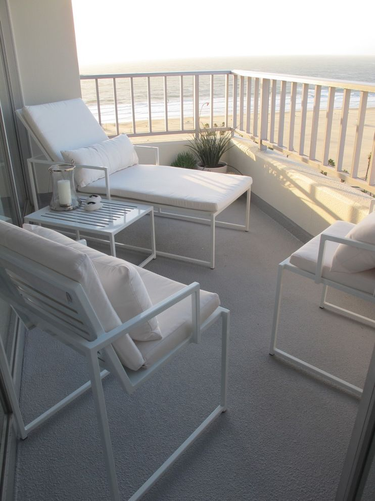 The Penthouse Santa Monica   Contemporary Patio  and Home Stagers Home Staging Interior Designer