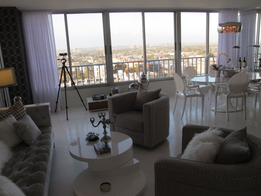 The Penthouse Santa Monica with Contemporary Living Room Also Home Stagers Home Staging Interior Designer