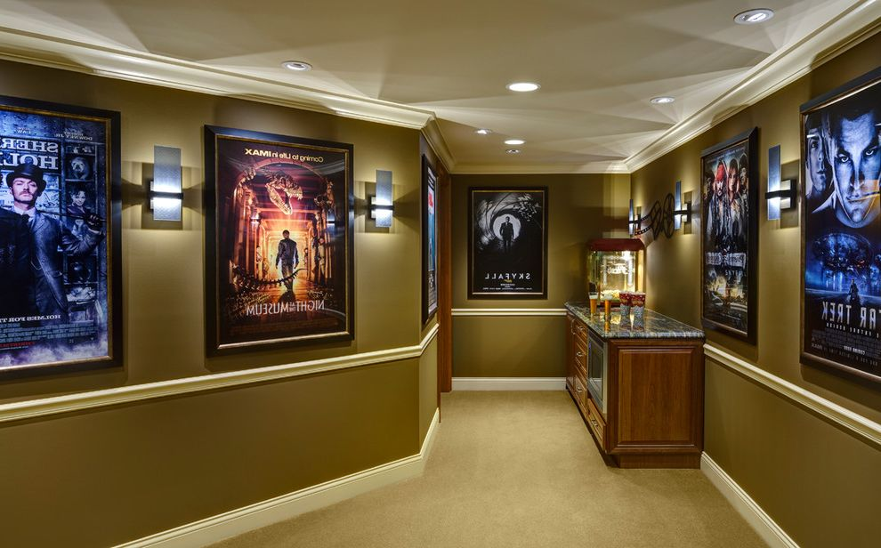 Theaters Springfield Mo with Traditional Home Theater Also Custom Home Theater Finished Lower Level Home Theater Home Theater Entry Home Theater Foyer Home Theater Snack Bar Lower Level Home Theater Small Home Theater Ideas