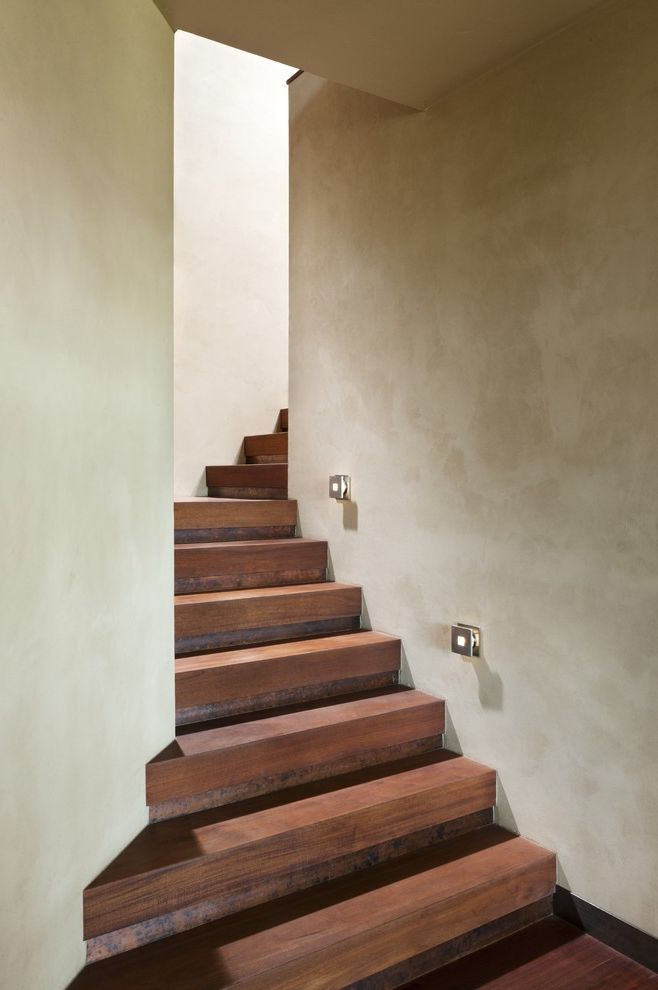 Thick Stair Treads With Contemporary Staircase Also Curved Staircase Hidden  Staircase Built In Staircase Lighting Wall Lighting Wood Flooring Wood  Treads
