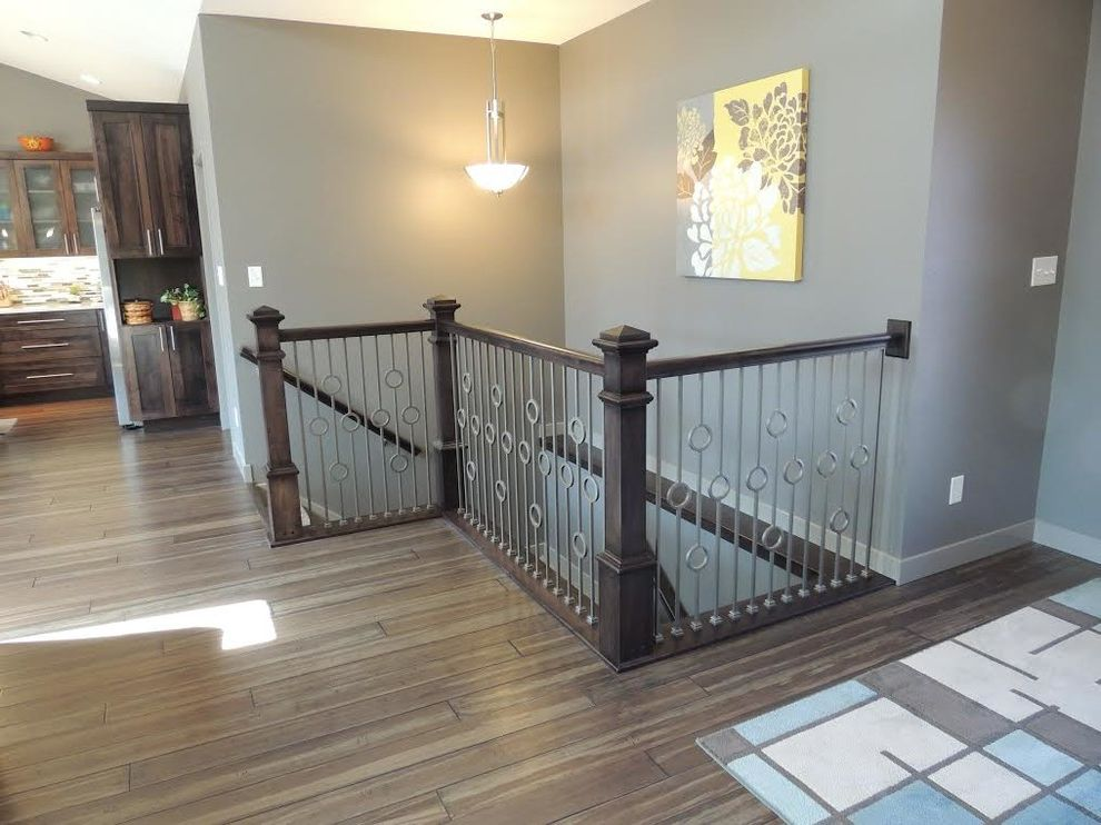 Thick Stair Treads with Traditional Staircase Also Traditional