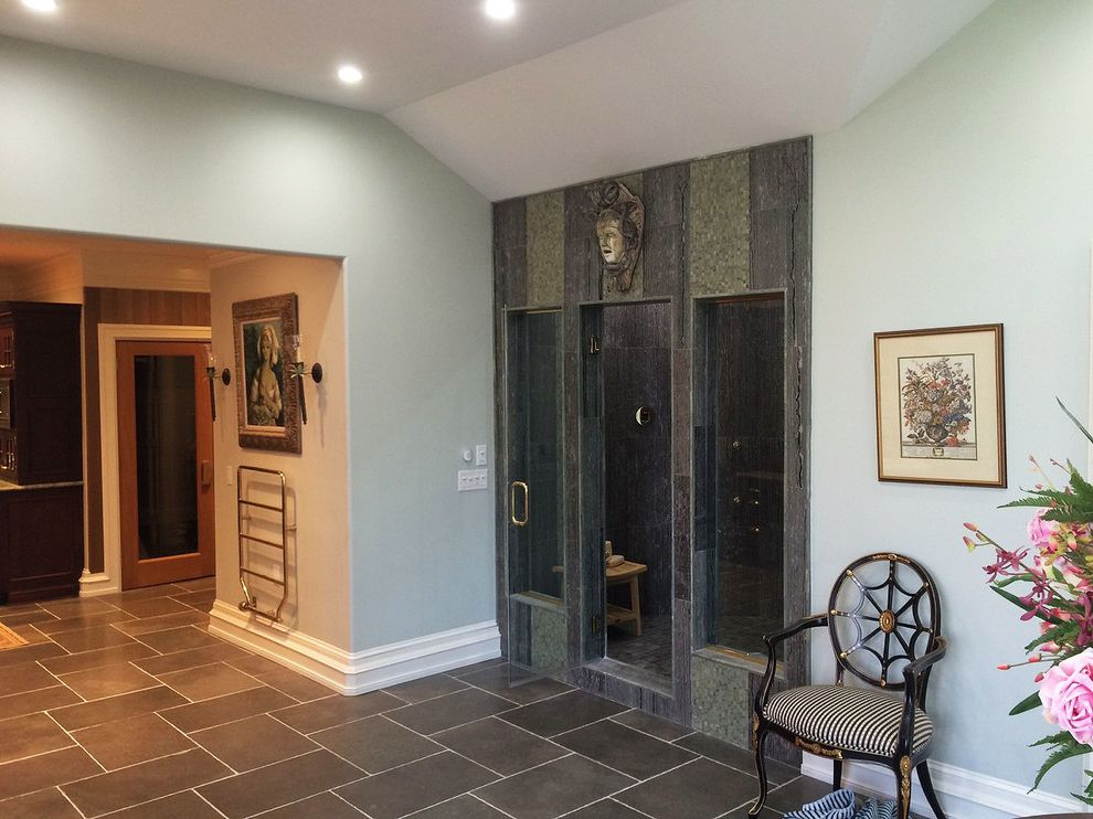 Tile Market of Delaware with Traditional Bathroom  and 12x24 16x24 2x2 58 Inch Antiqued Bathroom Hand Clipped Master Bathroom Roman Rustic Gold Sea Grey Shower Tile Tumbled Vein Cut Verde Laguna Zebrano