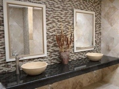 Tile Outlets of America with Traditional Bathroom Also Glass Mosaic Travertine Travertine Vessel Sink Dimensional Mosaic Wave Mosaic