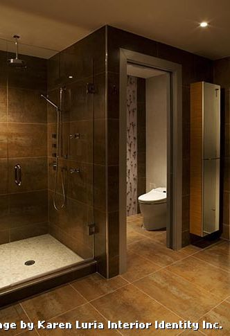 Tiling a Shower Floor or Wall First with Contemporary Bathroom and Contemporary