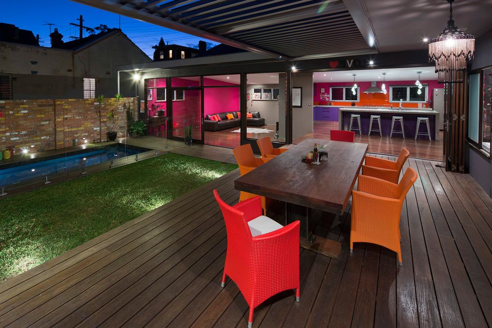 Courtyard & Pool House Newtown $style In $location