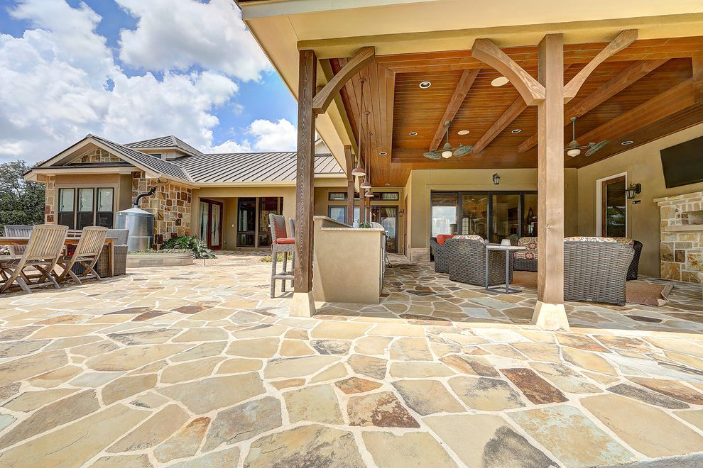 Tiny Home Builders Texas   Rustic Exterior Also Building a Home in Texas Elite Home Builders in Texas Hill Country Hill Country Home Builders Home Builders in Texas Paul Allen Homes San Antonio San Antonio Home Builders Stunning Hill Country Home