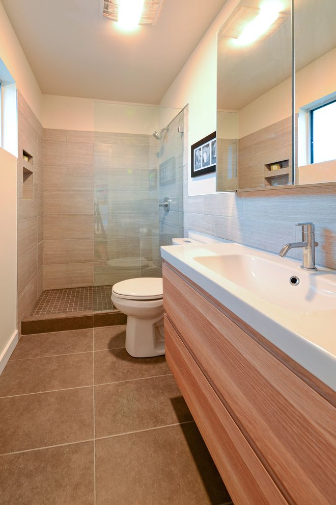 Toto Cst412mf with Midcentury Bathroom  and Modern Ranch Remodel Small Bathrooms