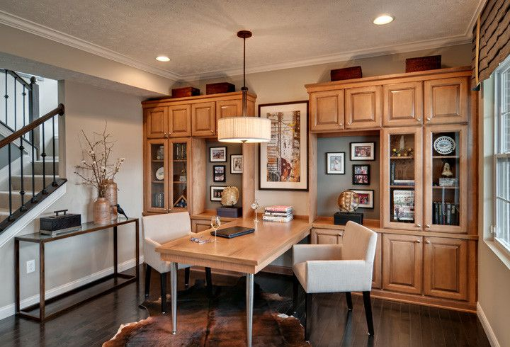 Trails of Shaker Run   Contemporary Home Office Also Contemporary