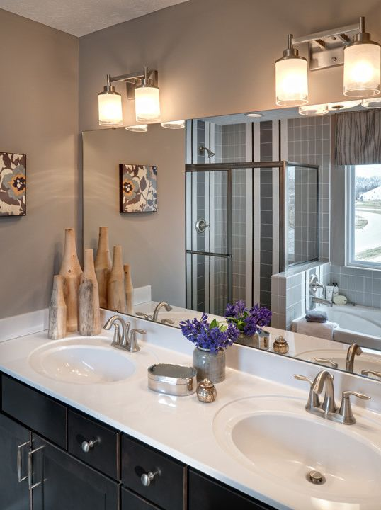 Trails of Shaker Run with Contemporary Bathroom  and Contemporary