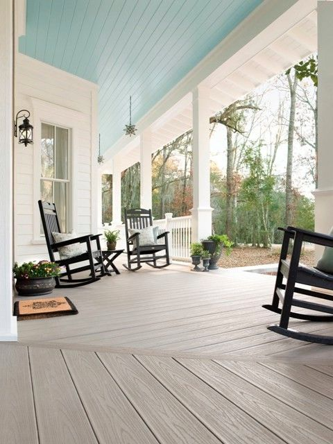 Trex Decking Colors   Traditional Deck Also Composite Deck Engineered Wood Outdoor Decor Outdoor Living Space Porch Transcend Gravel Path Trex Trex Deck Trex Outdoor Furniture Trex Transcend Trex Transcend Railing Trex Trim