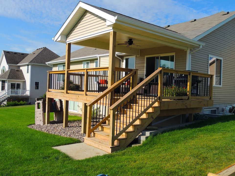Trex Decking Colors with Traditional Deck  and Traditional