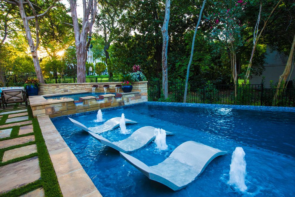 Tropitone Lounge Chairs   Contemporary Pool Also Aquatera Aquaterra Outdoor Environments Aquaterra Outdoors Artificial Turf Bubbler Firepits Fountain Ledge Outdoor Chairs Paver Pool Pool Chairs Spa Sun Shelf Water Fountain Water Scupper Waterfall