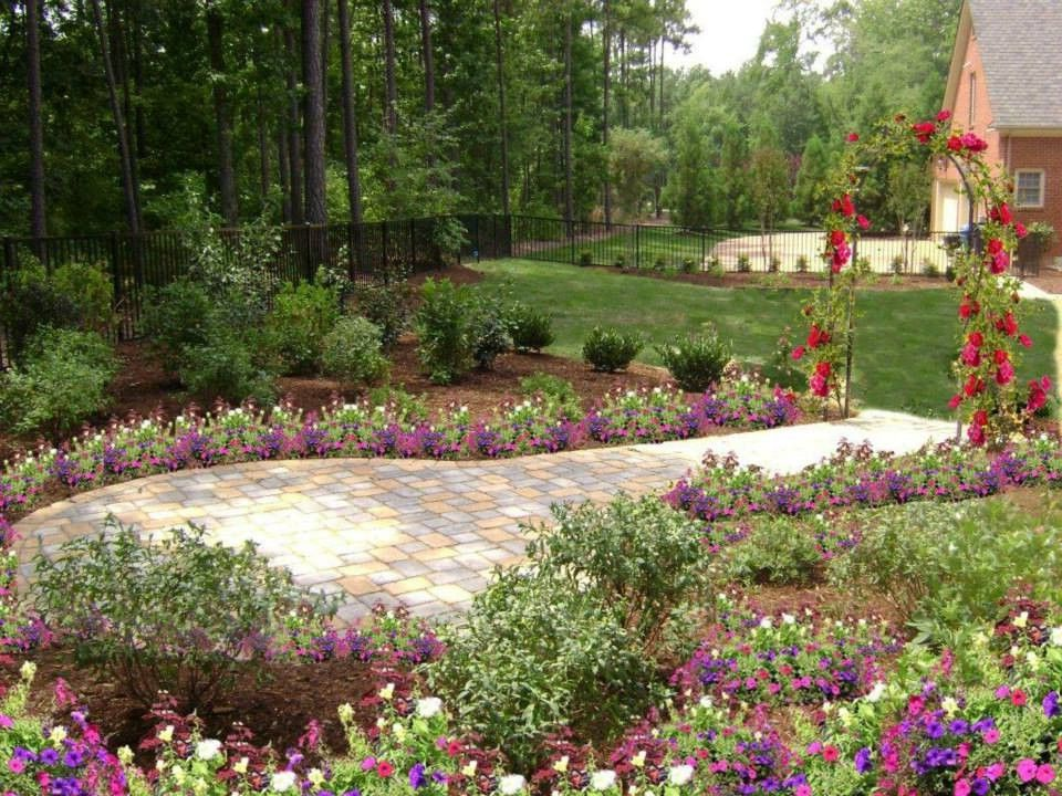 Tuckahoe Landscaping with  Landscape  and Brick Outdoor Patio Brick Wall Outdoor Landscape Shruberry