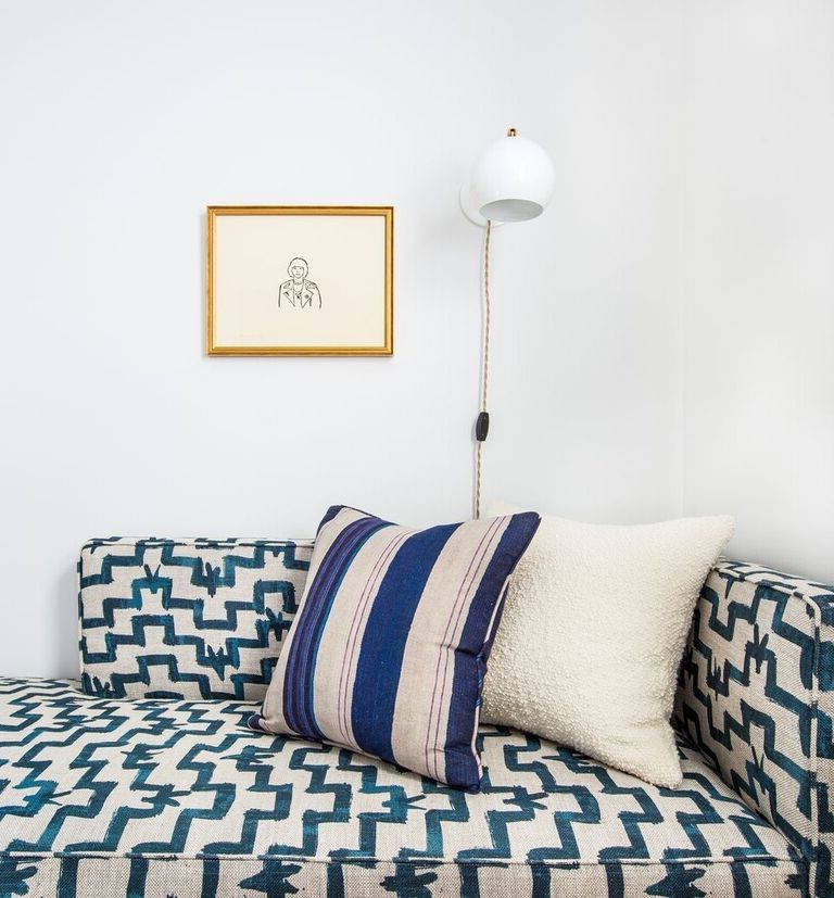 Tulu Textiles   Eclectic Spaces Also Chaise Ethnic Textiles Jennifer Ament Master Bedroom Sconce