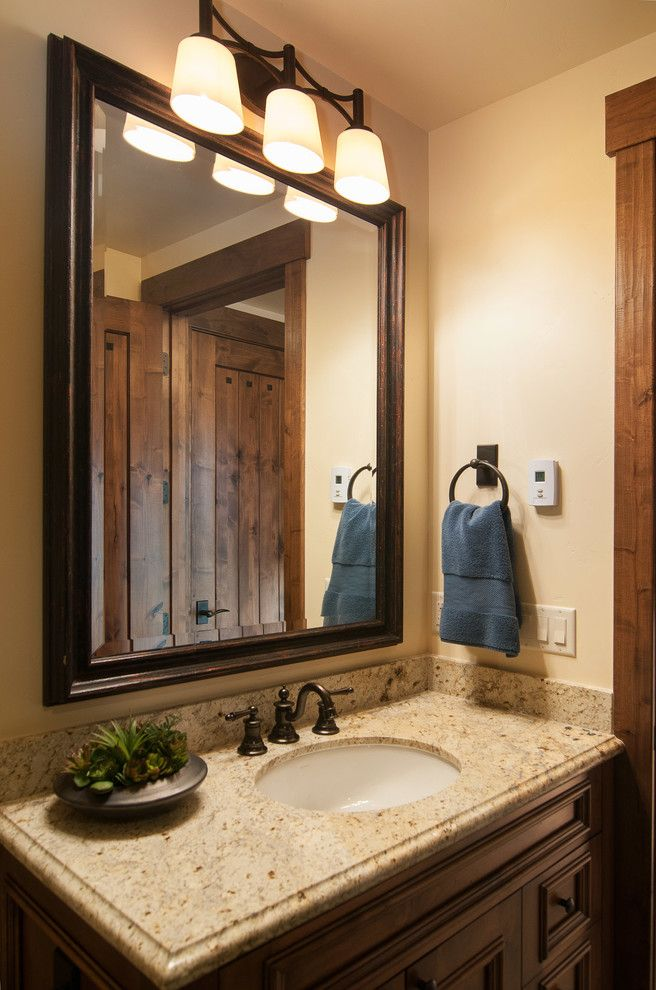 Tuscany Utah with Rustic Bathroom  and Rustic