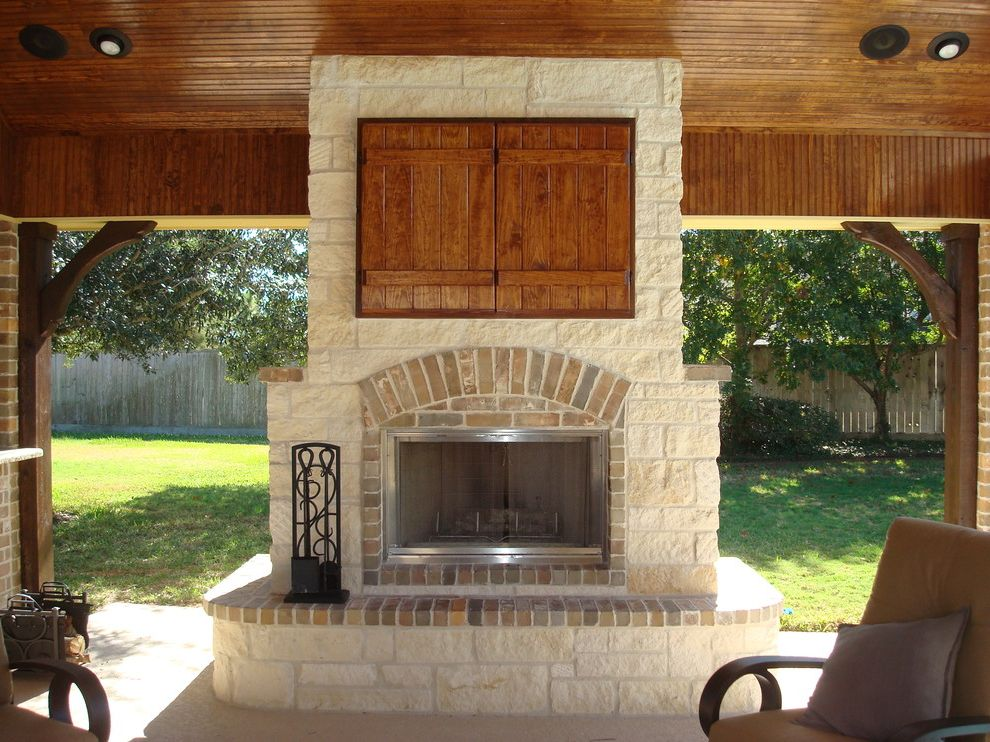 Tv Covers for Outdoors with Traditional Patio  and Traditional
