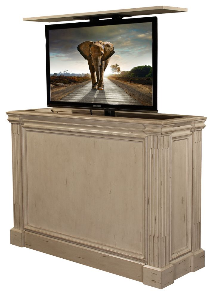 Ritz Camden White Tv Lift Kit Diy Cabinet Furniture Has 10 Year Warranty $style In $location