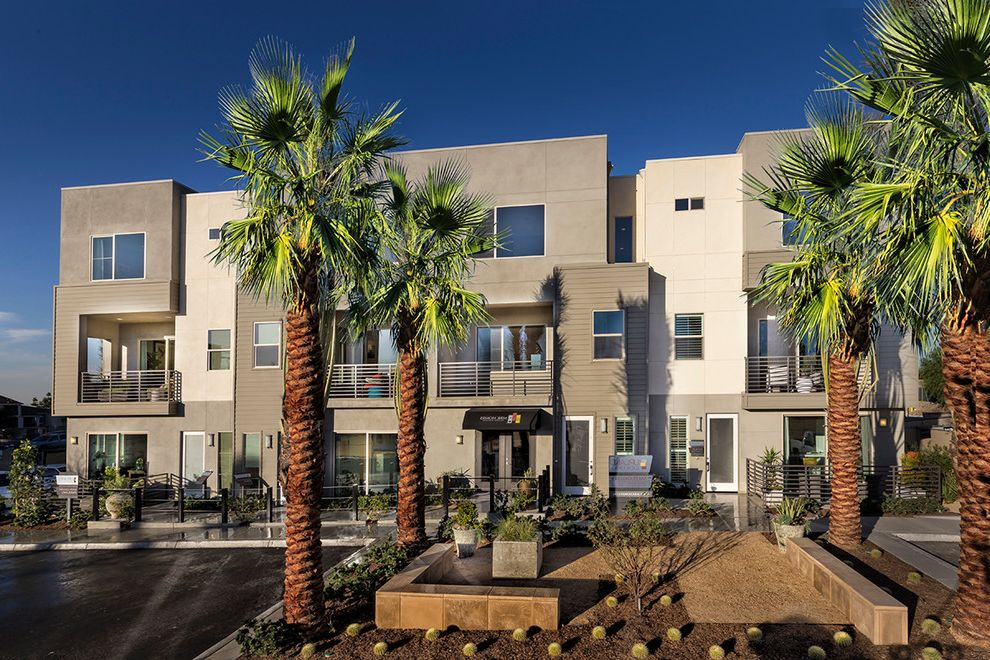 Upland Townhomes   Modern Spaces Also Contemporary Inland Empire Live Work Los Angeles County New Townhomes San Bernardino County Upland