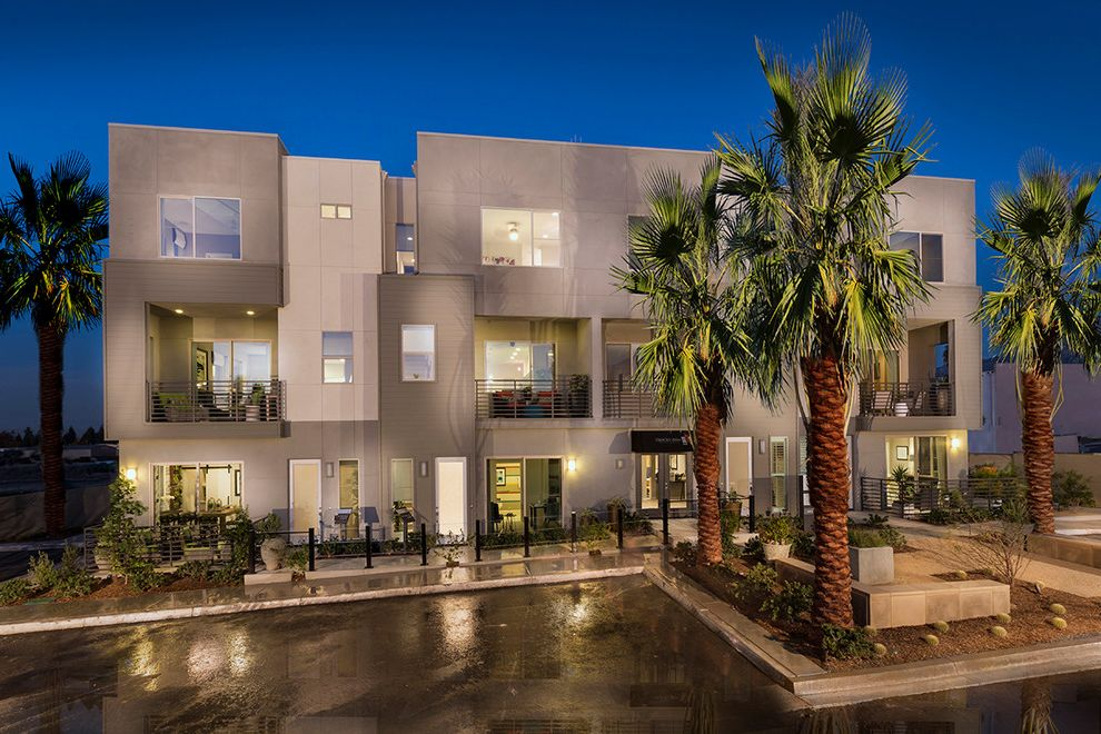 Upland Townhomes   Modern Spaces  and Contemporary Inland Empire Live Work Los Angeles County New Townhomes San Bernardino County Upland