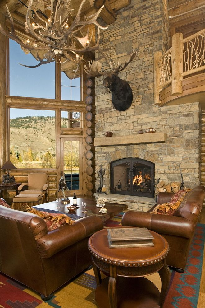 Jackson Hole, Wy, Log Home $style In $location