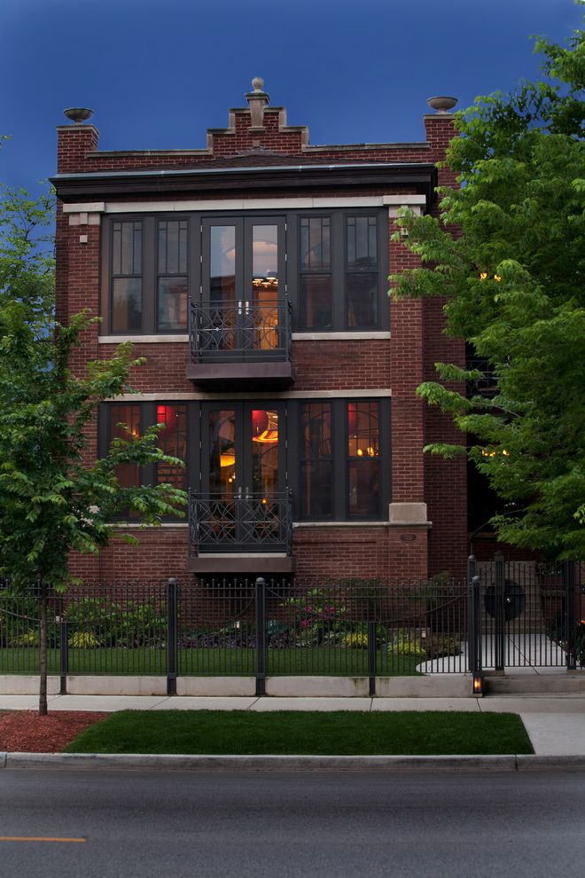 Urban Oasis Chicago   Contemporary Exterior Also Custom Design Luxury Home Quality Construction