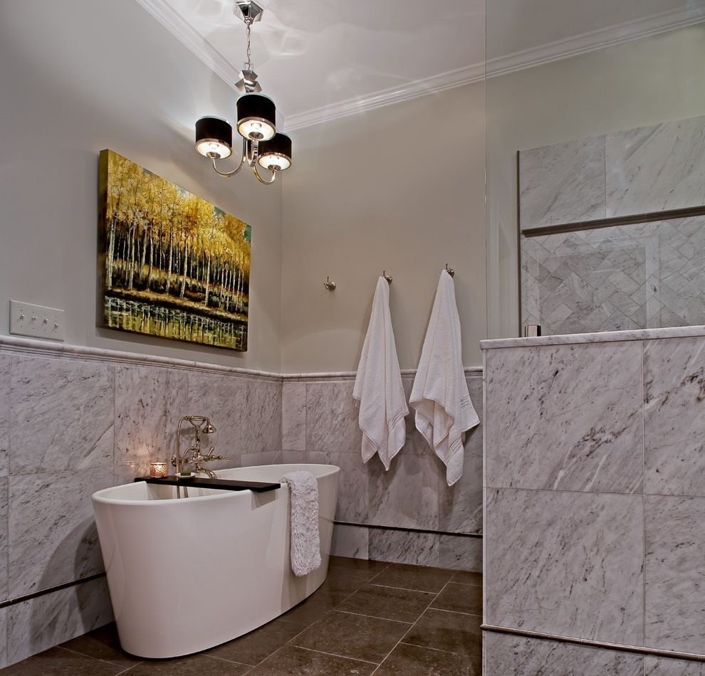 Uttermost.com   Contemporary Bathroom Also Carrara Freestanding Tub Herringbone Wall Tile Lagos Azul Limestone Marble Marble Wainscotting Old Fashioned Tub Filler Polished Nickel Rohl Fittings Wall Mounted Tub Filler Wetstyle Ove