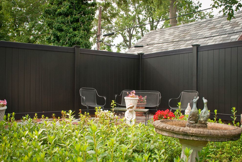Vinyl Fencing Hawaii with Traditional Landscape  and Black Black Fencing Black Fencing Panels Fencing Fencing Panels Painted Wood Fence Privacy Fence Pvc Fence Stained Fence Vinyl Fence Wood Fencing