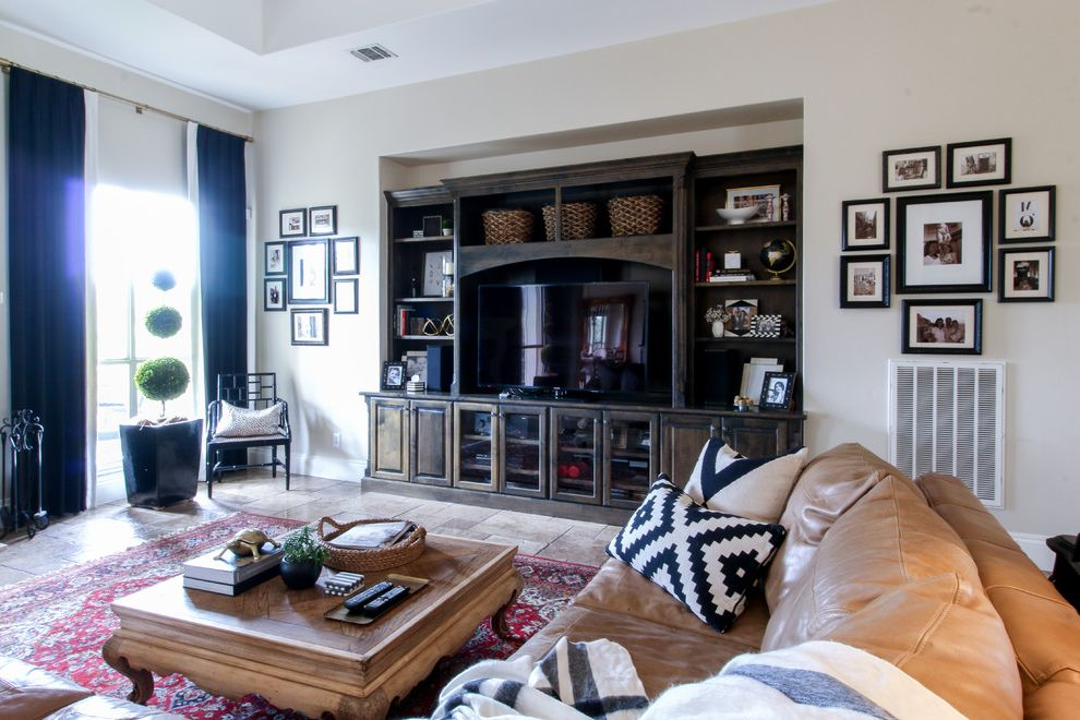 My Houzz: Timeless Black-and-white Style In Texas $style In $location