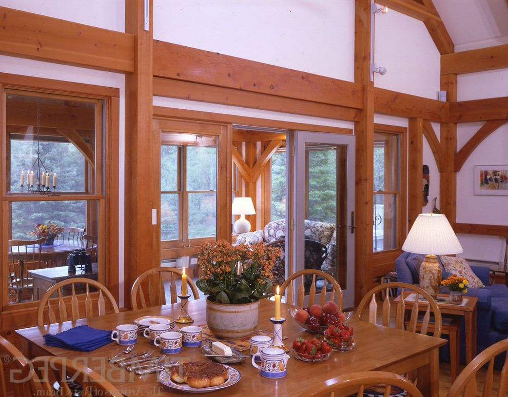 Vrbo Duluth Mn    Dining Room Also 4732 Barn Style Home Custom Design Custom Designed Home Dining Room Dining Rooms Duluth Minnesota Post and Beam Residential Timber Frame Timber Frame Home Timberframe Timberframe Home Timberpeg