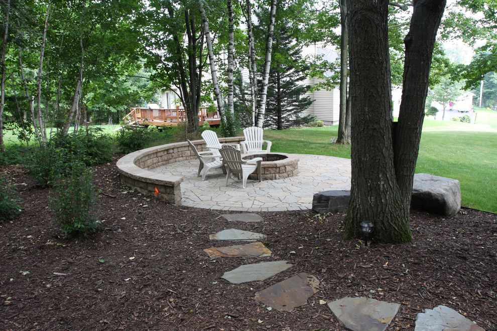 Vrbo Duluth Mn with Traditional Landscape Also Fire Pit Seat Wall