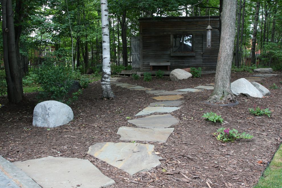 Vrbo Duluth Mn with Traditional Landscape Also Natural Stone Pathway