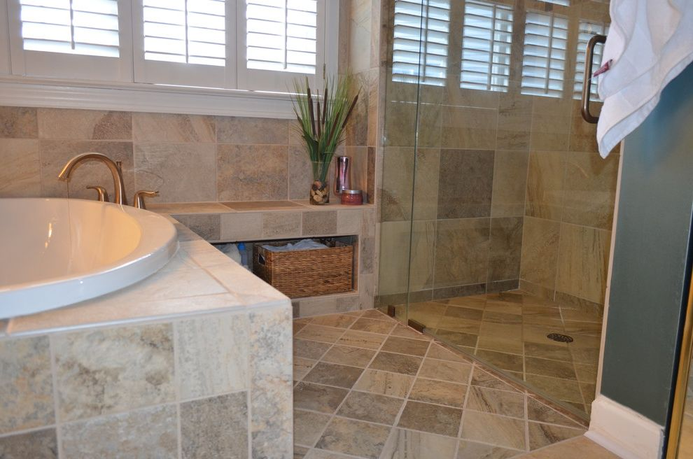Coventry Woods, Cary Nc ~ Master Bathroom Remodel $style In $location