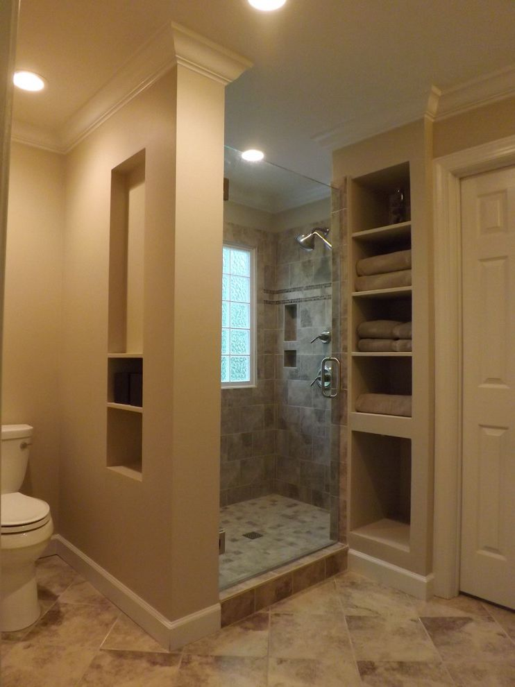 Wake Remodeling with Traditional Bathroom  and Luxurious Master Bathspa Custom Des Nc