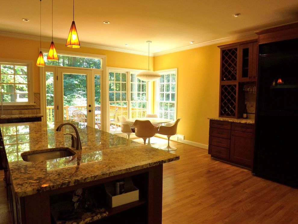Wake Remodeling with Traditional Kitchen Also Kitchen Remodel Kitchen Addition in Cary Nc Delicatus Gold Granite New Pantry Hardwood Floors