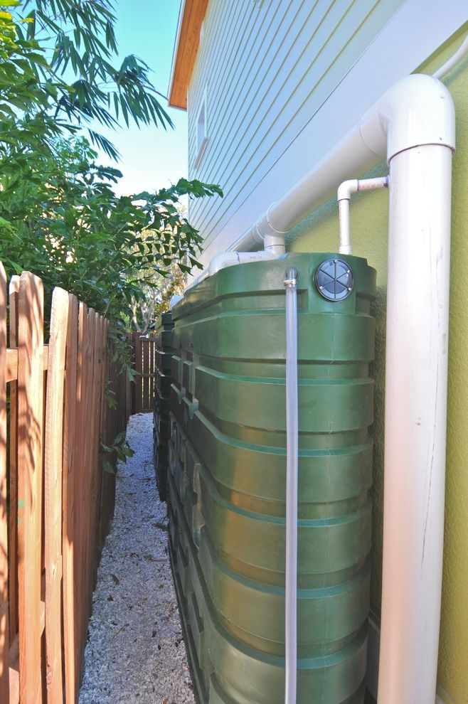 Water Holding Tank for House with Eclectic Spaces Also Eclectic