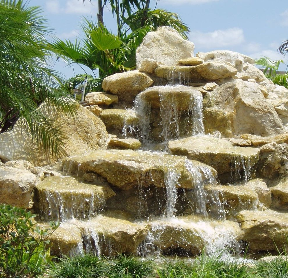 Waterfalls in Florida with Tropical Spaces Also Waterfall Waterfalls